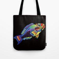 Rainbow parrot fish -2 Tote Bag