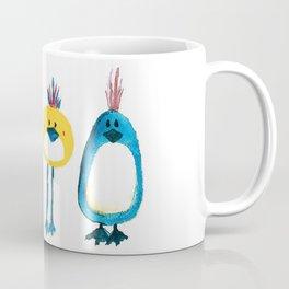 Birds in a Row Coffee Mug