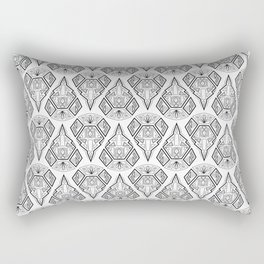 Art Deco, Arabica 2 Rectangular Pillow