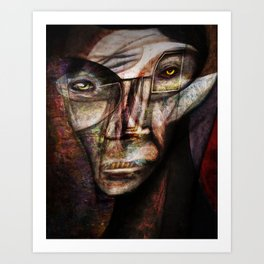 The Man Upstairs Art Print