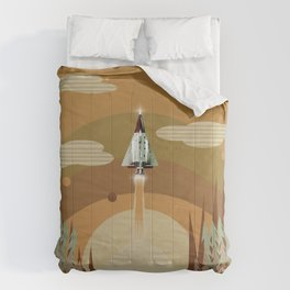 the adventure continues Comforters