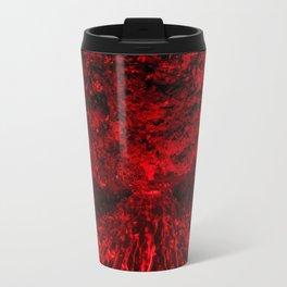 Volcanic eruption Travel Mug