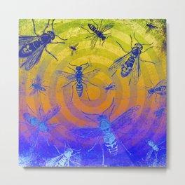 Wasps Metal Print