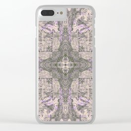 ONCE UPON A TIME EUCALYPTUS MANDALA Clear iPhone Case