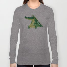 Crocodile has a Smile Long Sleeve T-shirt
