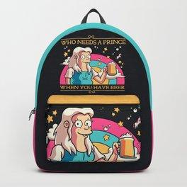 Princess Priorities // Beer Lover, Princess Bean, Disenchantment Backpack