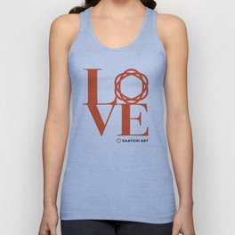 Love Saatchi Art Unisex Tank Top