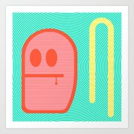 Grubbo Citrus Dim.  Art Print