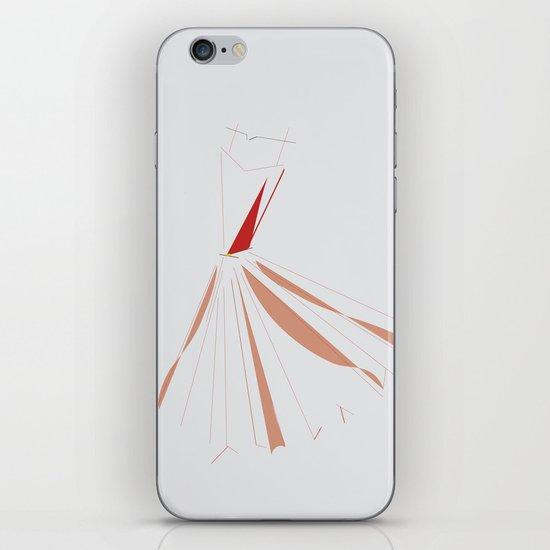 Red dress iPhone & iPod Skin