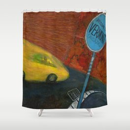 The Fourth Time, I'll Drive Shower Curtain
