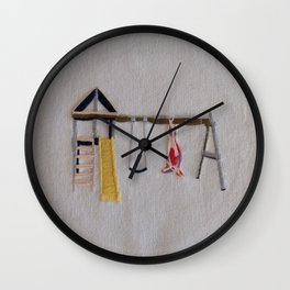Deer Season Wall Clock