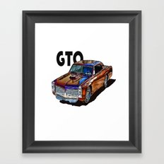 GTO Framed Art Print