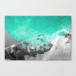 Squaw Valley Mountain Canvas Print