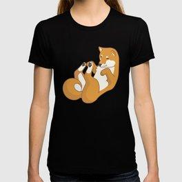 Playful Shiba Inu T-shirt