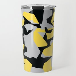Search products, artworks and themes Yellow CAMO, Keep your stuff hidden in plain sight! Travel Mug