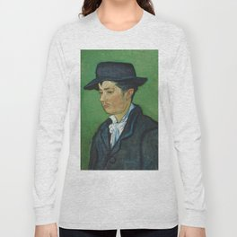 Portrait of Armand Roulin by Vincent van Gogh Long Sleeve T-shirt
