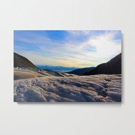 Above Juneau, Alaska Metal Print