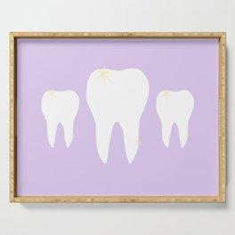 Les Dents Serving Tray