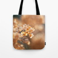 gold glitter Tote Bags featuring Gold Glitter by Katie Kirkland Photography