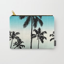 Opal tropical palms Carry-All Pouch