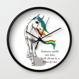 Starlite Wall Clock