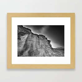 Volcanic world Framed Art Print