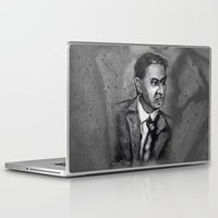 carl sagan Laptop & iPad Skins featuring Carl Sagan by Wesley S Abney