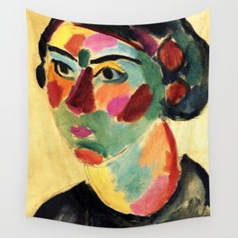 "Alexej von Jawlensky ""Julia"" 1916 Wall Tapestry"