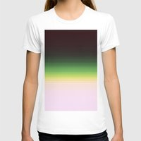 ombre T-shirts featuring Forest Ombre by PureVintageLove