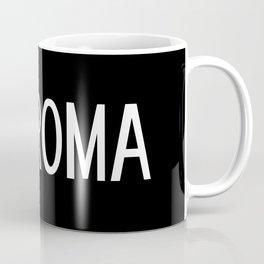 Italy: Roman Flag & Roma Coffee Mug