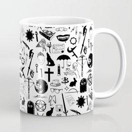 Buffy Symbology, Black Coffee Mug