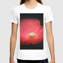 Red flower India T-shirt