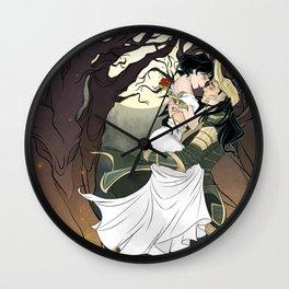 Loki and Cleo Wall Clock