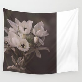 White flowers for you Wall Tapestry