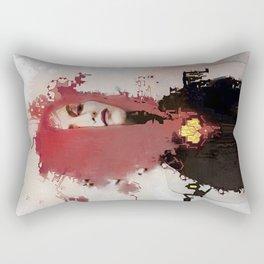 With regards; elaboration Rectangular Pillow