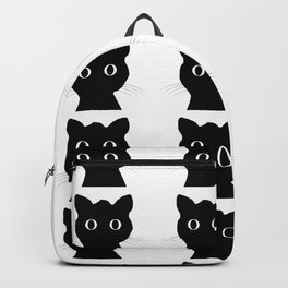 Black eyes cat Backpack