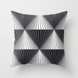 op art Throw Pillow