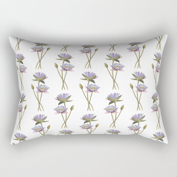 Lotus flowers Rectangular Pillow
