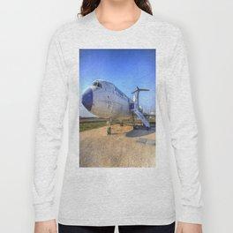 Malev Tupolev TU-154 Jet Long Sleeve T-shirt