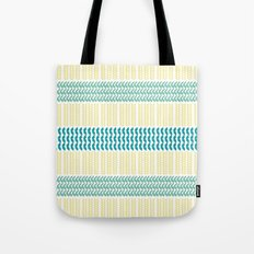 Knit Pattern Tote Bag