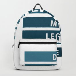 Dad 3 #fathersday Backpack