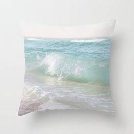 Beach Waves   Photography Summer Vibes   Sun Fun   Water Ocean   Salt   Sea   Water Throw Pillow