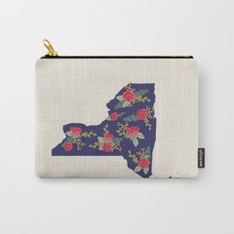 The Empire State of Flowers Carry-All Pouch
