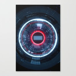 HEARTBEAT.64 Canvas Print