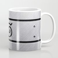 naruto Mugs featuring Naruto Headband by Kesen
