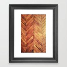 3D Wood  Framed Art Print