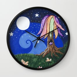 Full Moon Magic Wall Clock