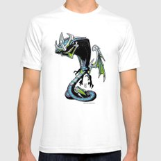 Roswell gang - RazorWing Alpha a.k.a. Puppet Master - Villains of G universe White Mens Fitted Tee SMALL