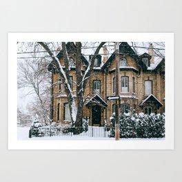 Cabbagetown - Toronto, Canada - #1 Art Print