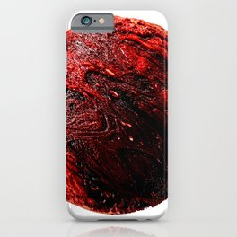 Abstract Planet v7 iPhone Case